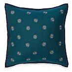 Bianca Circle Embroidery Square Toss Pillow