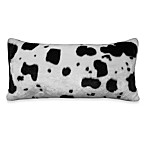 Mountain Retreat Oblong Cowhide Toss Pillow