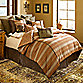 Prairie Stripe Jacquard 4-Piece King Comforter Set