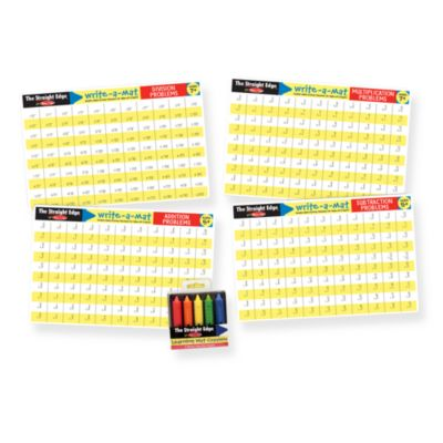 Melissa & Doug® Math Skills Placemat Set