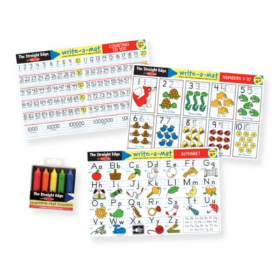 Melissa & Doug® Alphabet/Numbers Placemat Set