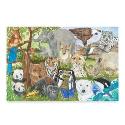 Melissa & Doug® Endangered Species 48-Piece Floor Puzzle