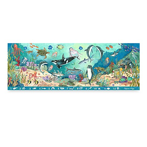 Melissa & Doug® Search & Find Under the Sea 48-Piece Floor Puzzle