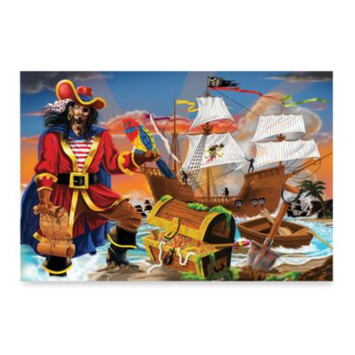 Melissa & Doug® Pirate's Bounty 100-Piece Floor Puzzle