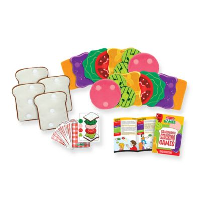 Melissa & Doug® Sandwich Stacking Games