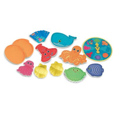 Melissa & Doug® Seafood Sandwich Stacking Game