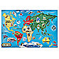 Melissa & Doug® World Map 33-Piece Floor Puzzle