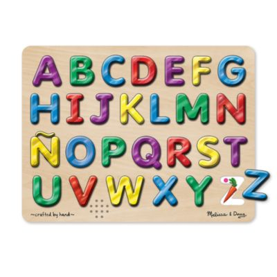 Melissa & Doug® Spanish Alphabet Sound Puzzle