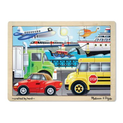 Melissa & Doug® On the Go Vehicles 12-Piece Jigsaw Puzzle