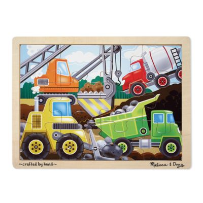 Melissa & Doug® Construction Site 12-Piece Jigsaw Puzzle