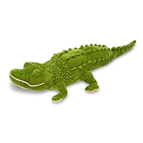 Melissa & Doug® Alligator Giant Stuffed Animal