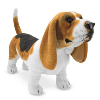 Melissa & Doug® Basset Hound Dog Stuffed Animal