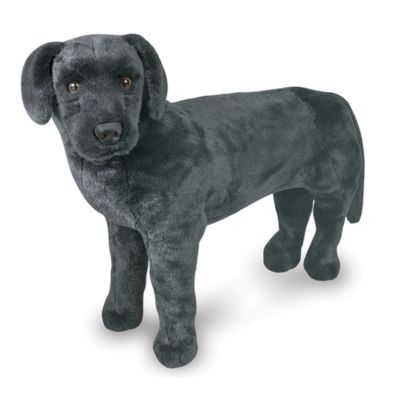 Melissa & Doug® Black Lab Giant Stuffed Animal