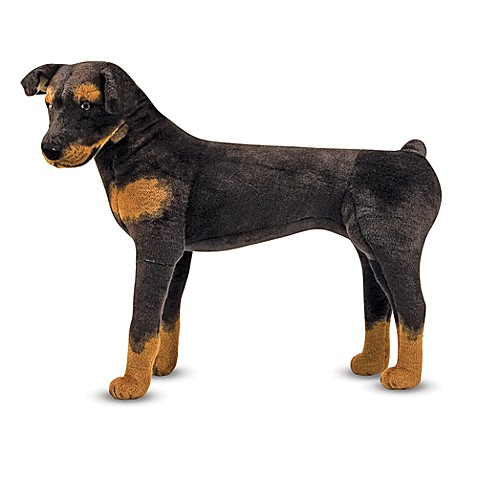 Melissa & Doug® Rottweiler Dog Giant Stuffed Animal