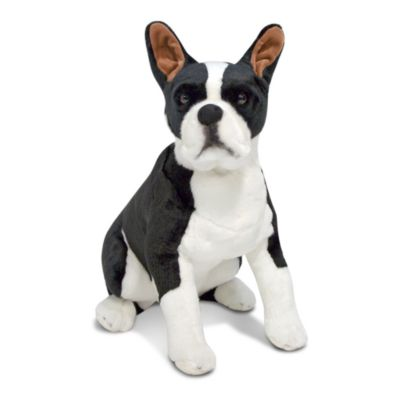 Melissa & Doug® Boston Terrier Dog Giant Stuffed Animal
