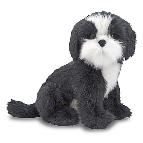 Melissa & Doug® Shih Tzu Dog Giant Stuffed Animal
