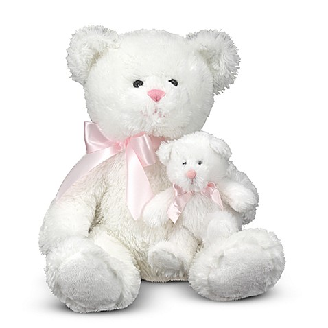 Melissa & Doug® Marsh and Mallow - Mother and Baby Bear Stuffed Animal Pair