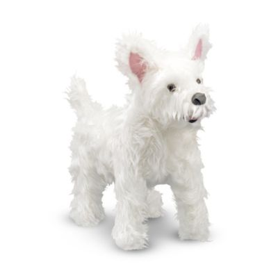 Melissa & Doug® West Highland Terrier (Westie) Dog Giant Stuffed Animal