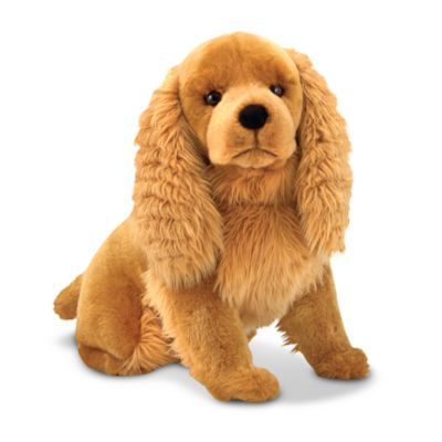 Melissa & Doug® Cocker Spaniel Giant Stuffed Animal