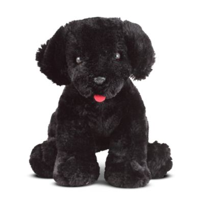 Melissa & Doug® Benson Black Lab Stuffed Animal
