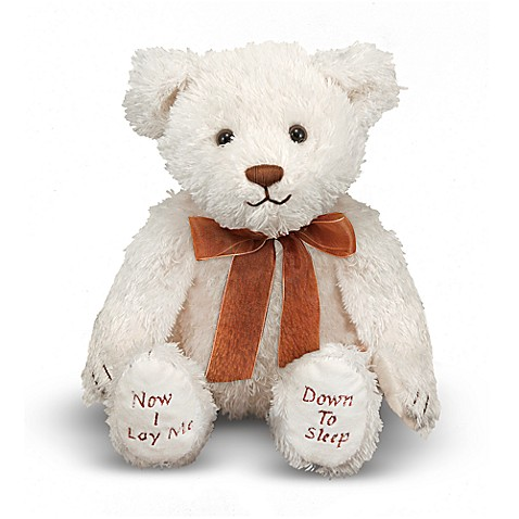 Melissa & Doug® Bedtime Prayer Bear Stuffed Animal