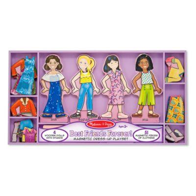 Melissa & Doug® Best Friends Forever! Magnetic Dress-Up