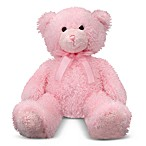 Melissa & Doug® Stuffed Teddy Bear in Cotton Candy Pink