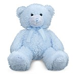 Melissa & Doug® Stuffed Teddy Bear in Cotton Candy Blue