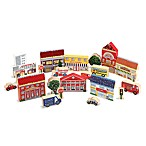 Melissa & Doug® Town Blocks Play Set