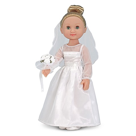 Melissa & Doug® Lindsay in 14-Inch Bride Doll