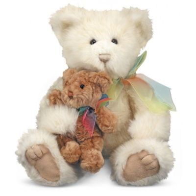 Melissa & Doug® Cream & Puff in Mother and Baby Bear Stuffed Animal Pair