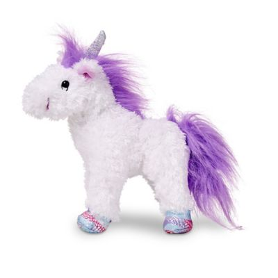 Melissa & Doug® Misty Unicorn Stuffed Animal