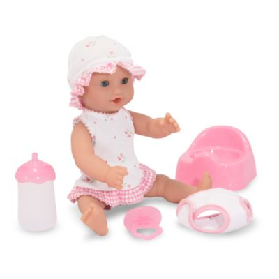 Melissa & Doug® Annie in 12-Inch Drink & Wet Doll
