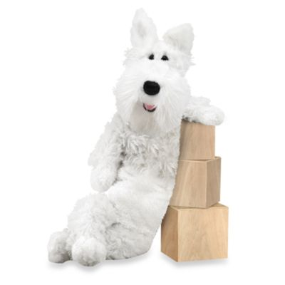 Melissa & Doug® Longfellow Westie Dog Stuffed Animal