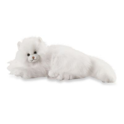 Melissa & Doug® Flossie White Cat Stuffed Animal