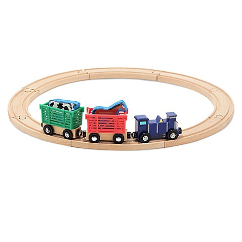 Melissa & Doug® Farm Animal Train Set