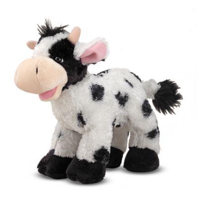Melissa & Doug® Checkers Cow Stuffed Animal