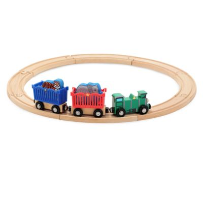 Melissa & Doug® Zoo Animal Train Set