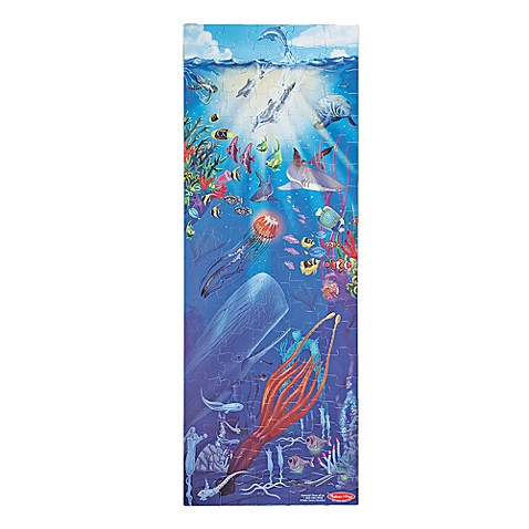 Melissa doug under the sea 100 piece floor puzzle www for 100 piece floor puzzles