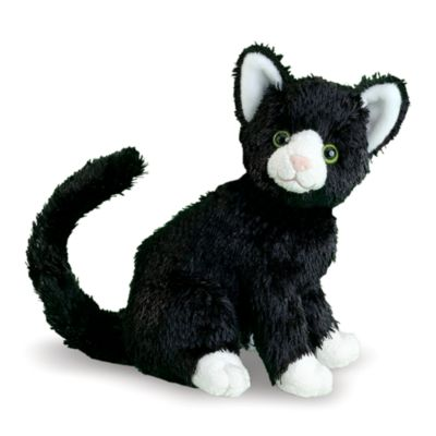 Melissa & Doug® Midnight Black Cat Stuffed Animal