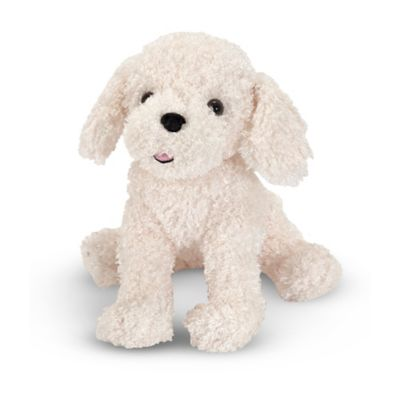Melissa & Doug® Fluffy Bichon Frise Puppy Dog Stuffed Animal