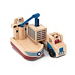 Melissa & Doug® Whittle World Cargo Ship & Truck Set