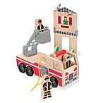 Melissa & Doug® Whittle World in Fire Rescue Play Set