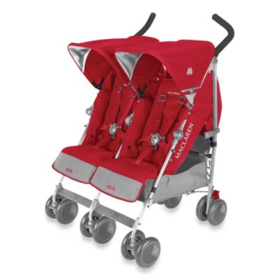 Maclaren® Twin Techno Stroller in Persian Rose