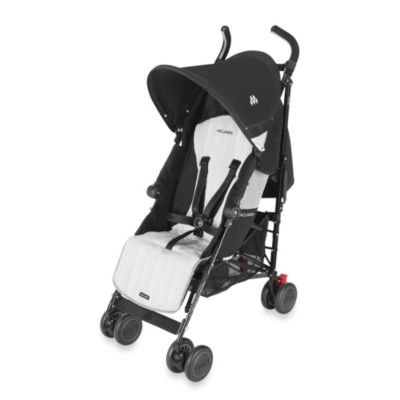 Maclaren® Quest Stroller in Black/Silver