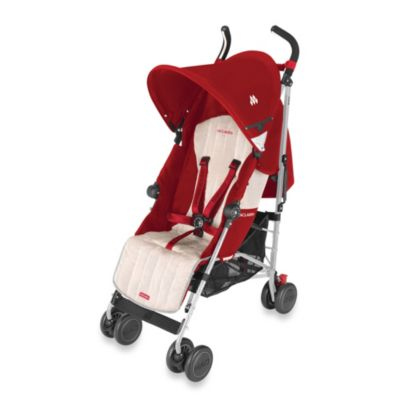 Maclaren® Quest Stroller in Scarlet/Wheat