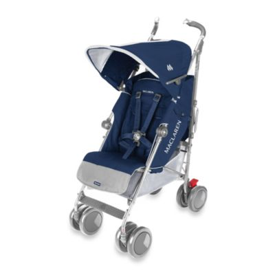 Single Strollers > Maclaren® Techno XT Stroller in Medieval Blue