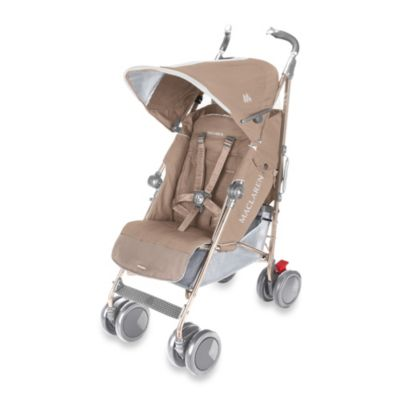Single Strollers > Maclaren® Techno XT Stroller in Champagne
