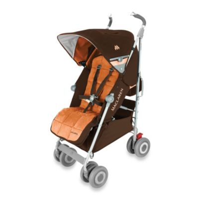 Maclaren® Techno XLR Stroller in Coffee/Burnt Orange
