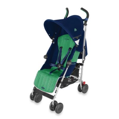 Maclaren® Quest Stroller in Medieval Blue/Jelly Bean